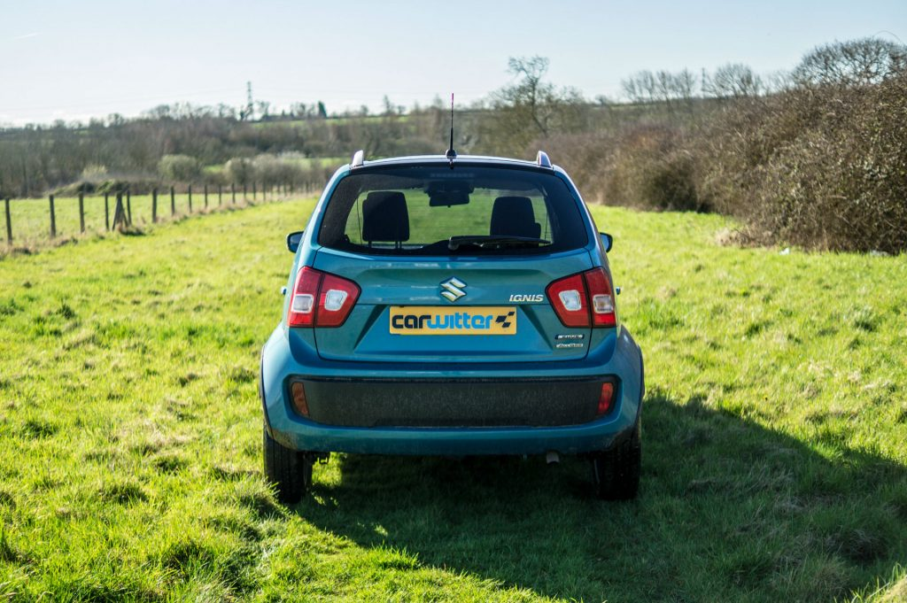 2018 Suzuki Ignis AllGrip Off Road Review Rear carwitter 1024x681 - Suzuki Ignis AllGrip Off-Road Review - Suzuki Ignis AllGrip Off-Road Review