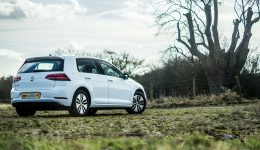 2018 VW eGolf Review Rear Angle Close carwitter 260x150 - Trying to drive 100 miles in an EV in 2018 - Trying to drive 100 miles in an EV in 2018