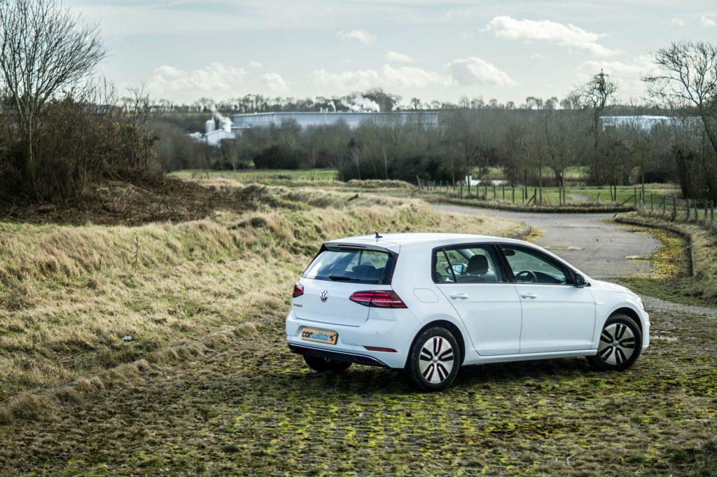 2018 VW eGolf Review Rear Scene carwitter 1024x681 - Trying to drive 100 miles in an EV in 2018 - Trying to drive 100 miles in an EV in 2018