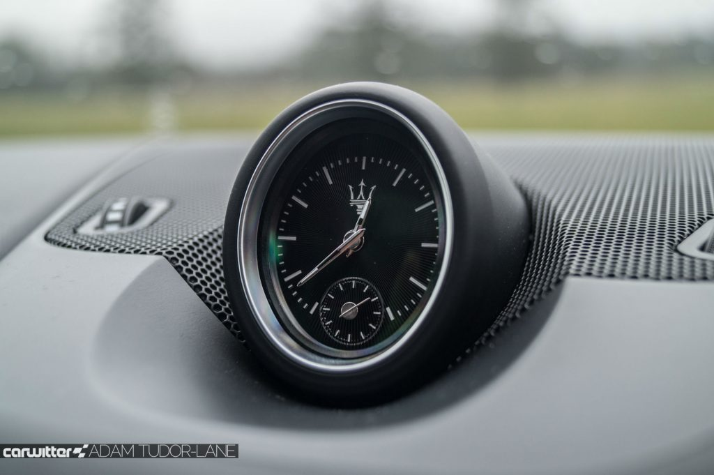 Maserati Levante S Review Clock carwitter 1024x681 - Maserati Levante S Review - Maserati Levante S Review