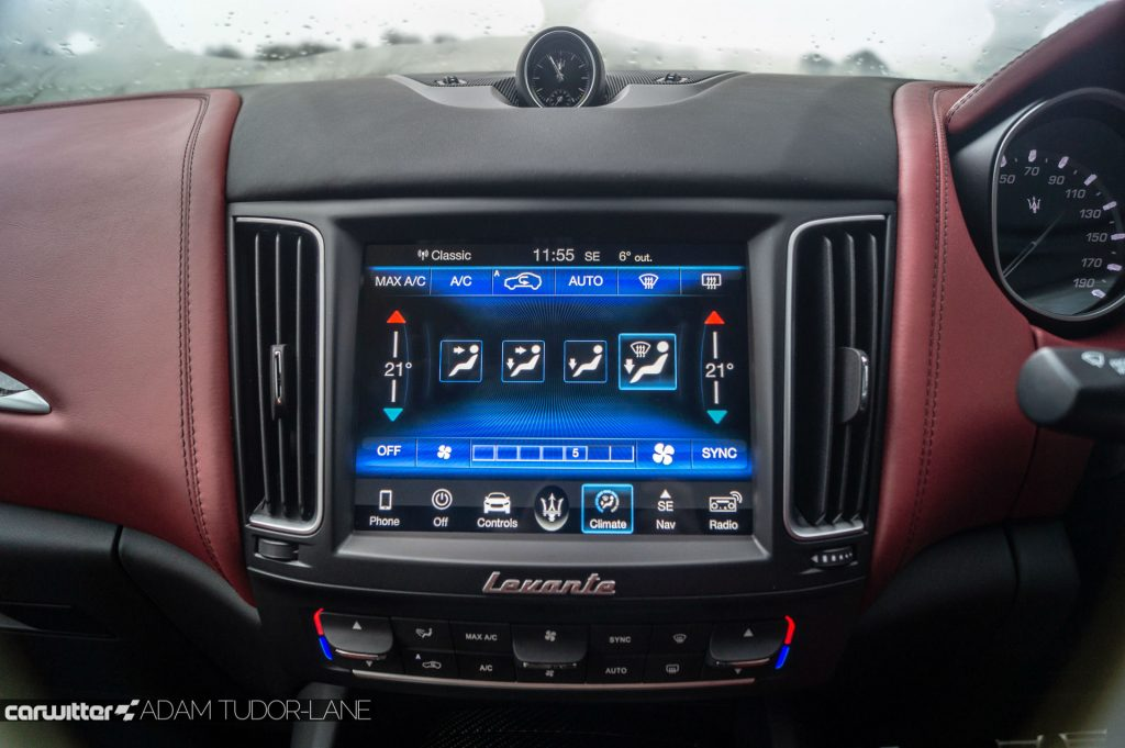 Maserati Levante S Review Infotainment carwitter 1024x681 - Maserati Levante S Review - Maserati Levante S Review