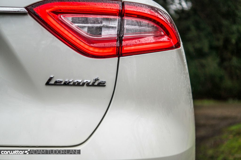 Maserati Levante S Review Rear Badge carwitter 1024x681 - Maserati Levante S Review - Maserati Levante S Review
