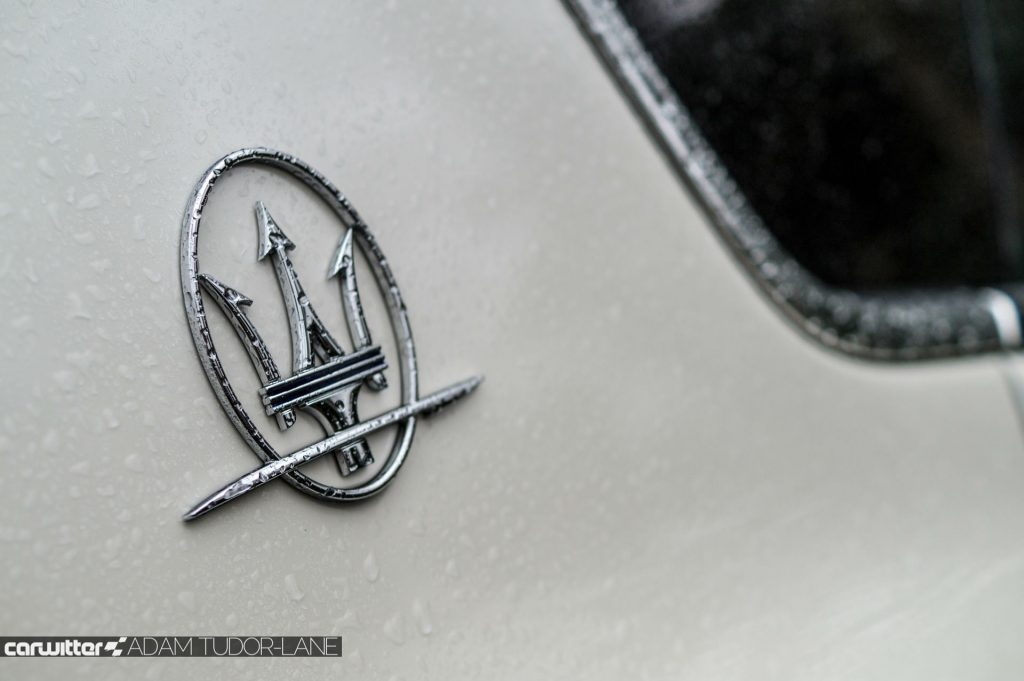 Maserati Levante S Review Side Badge Trident Detail carwitter 1024x681 - Maserati Levante S Review - Maserati Levante S Review