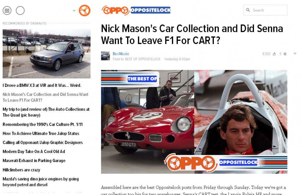 Nick Masons Car Collection Oppositelock carwitter 1024x664 - Press - Press