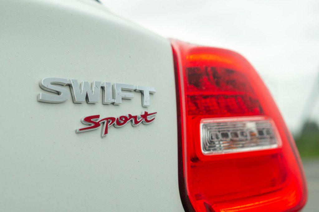 2018 Suzuki Swift Sport Review Rear Badge carwitter 1024x681 - 2018 Suzuki Swift Sport Review - 2018 Suzuki Swift Sport Review