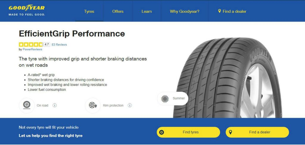 Goodyear EfficientGrip Performance Tyres carwitter 1024x490 - Tyres On The Drive Review - Tyres On The Drive Review