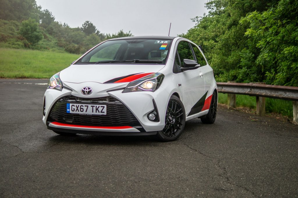 Toyota Yaris GRMN Review Front Angle Low carwitter 1024x681 - 10 Minutes With a Toyota Yaris GRMN - 10 Minutes With a Toyota Yaris GRMN