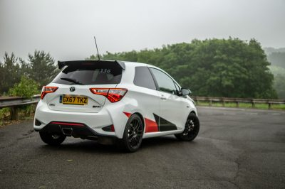 Toyota Yaris GRMN Review Rear Angle carwitter 400x266 - 10 Minutes With a Toyota Yaris GRMN - 10 Minutes With a Toyota Yaris GRMN