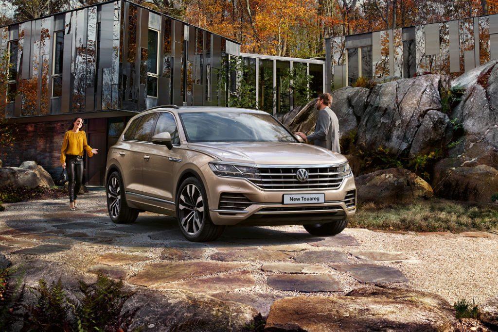 Volkswagen Touareg 2018 Front 1024x684 - New Volkswagen Touareg Available to Order - New Volkswagen Touareg Available to Order