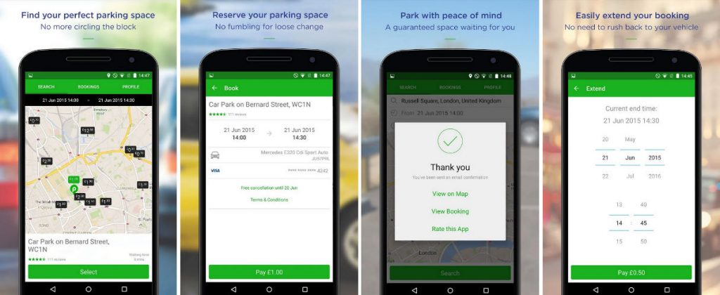 JustPark App carwitter 1024x420 - Smart Cars Or Smart Drivers? 6 Apps For A Headache-Free Trip - Smart Cars Or Smart Drivers? 6 Apps For A Headache-Free Trip