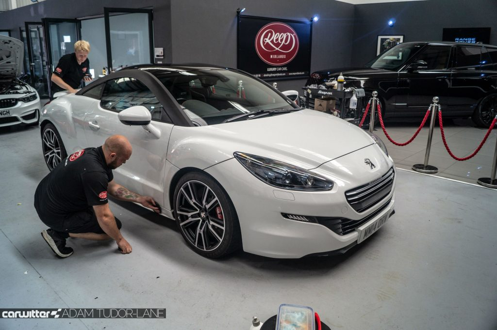 Reep Midlands Review Peugeot RCZ R 002 carwitter 1024x681 - Reep Midlands Review - The Car Spa - Reep Midlands Review - The Car Spa