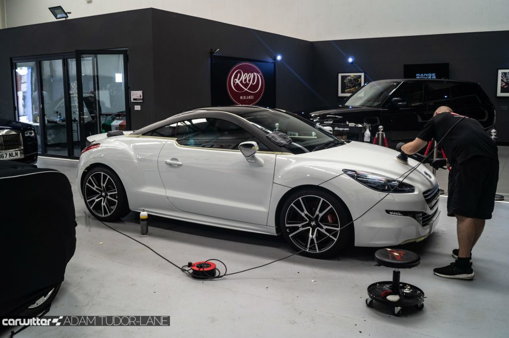 Reep Midlands Review Peugeot RCZ R 031 carwitter 1024x681 - Reep Midlands Review - The Car Spa - Reep Midlands Review - The Car Spa