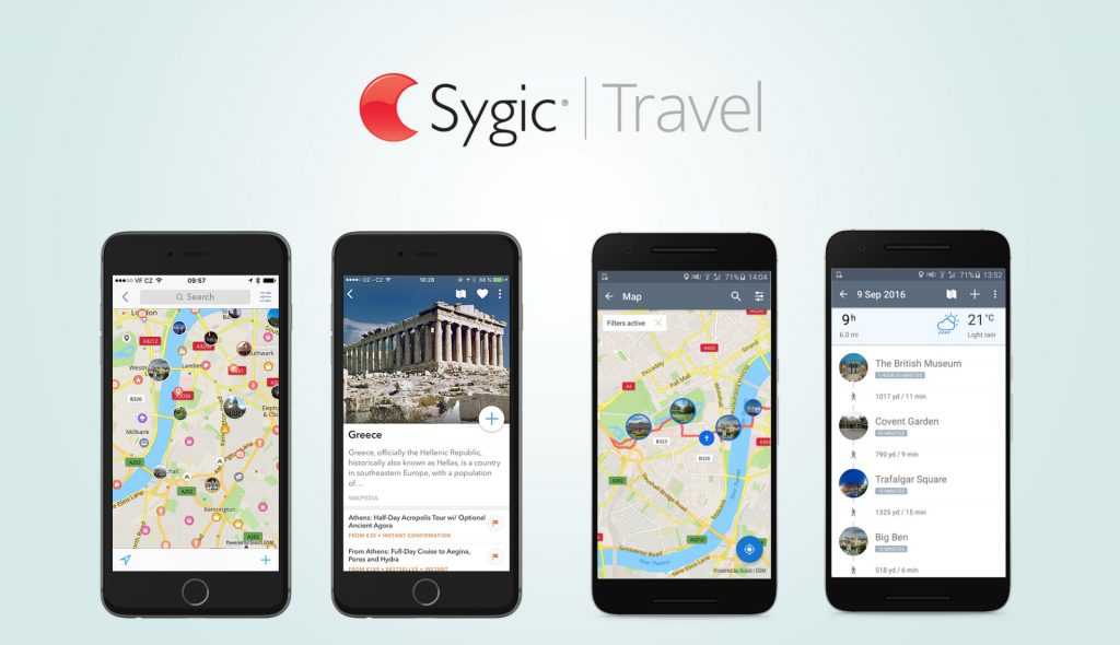 Sygic Travel App carwitter 1024x590 - Smart Cars Or Smart Drivers? 6 Apps For A Headache-Free Trip - Smart Cars Or Smart Drivers? 6 Apps For A Headache-Free Trip