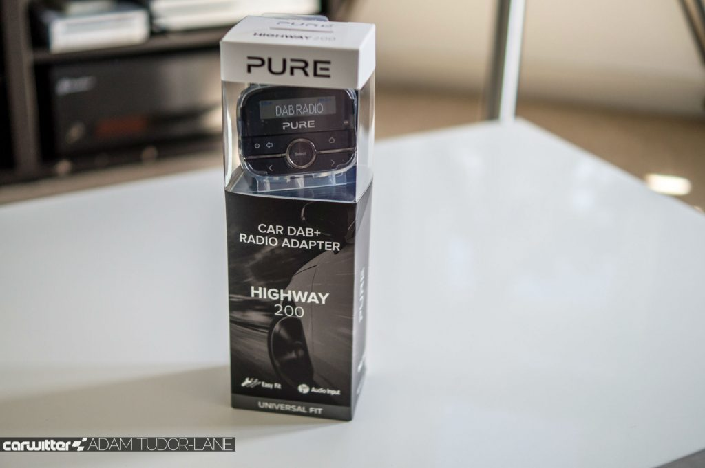 Pure DAB Highway 200 Review 009 carwitter 1024x681 - Pure Highway 200 DAB Radio Review - Pure Highway 200 DAB Radio Review