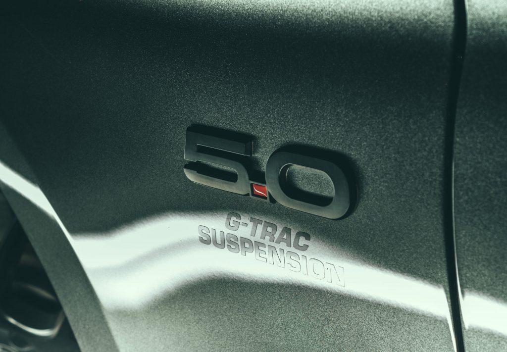 Steeda Q500 Review G Trac Suspension Badge carwitter 1024x711 - Steeda Q500 Mustang Review - Steeda Q500 Mustang Review