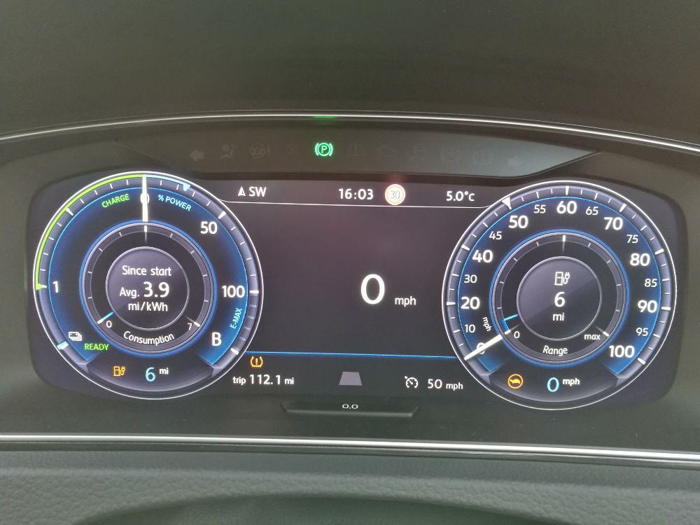 VW EGolf Drive Test Review 100 Miles 048 carwitter - Trying to drive 100 miles in an EV in 2018 - VW EGolf Drive Test Review 100 Miles - 048 - carwitter