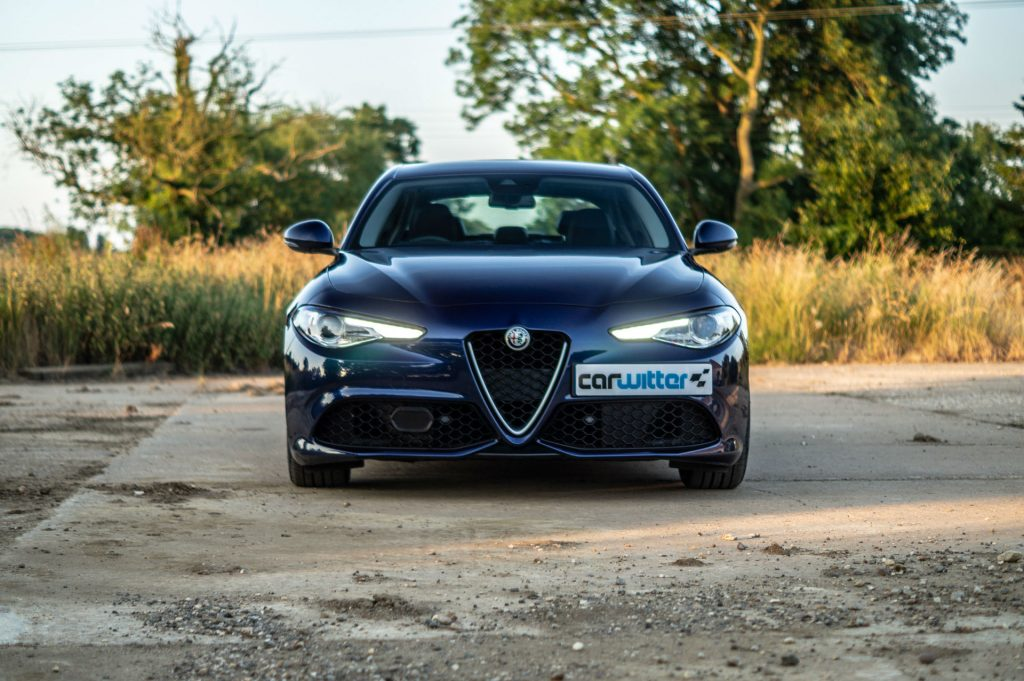 2018 Alfa Romeo Guilia Veloce Review Front DRL carwitter 1024x681 - 7 tips to select the perfect insurance type for your car - 7 tips to select the perfect insurance type for your car
