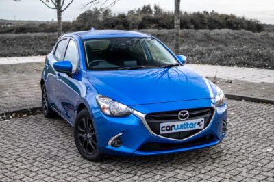 2018 Mazda 2 Sport Black Review Review Front Angle Close carwitter 400x266 - Mazda 2 Review - Mazda 2 Review