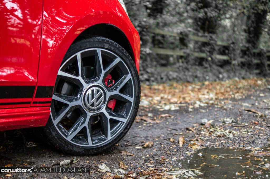 VW Up GTi Review Alloy carwitter 1024x681 - Volkswagen Up GTi Review - Volkswagen Up GTi Review
