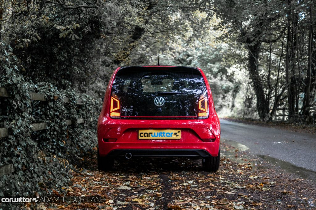 VW Up GTi Review Rear carwitter 1024x681 - Volkswagen Up GTi Review - Volkswagen Up GTi Review