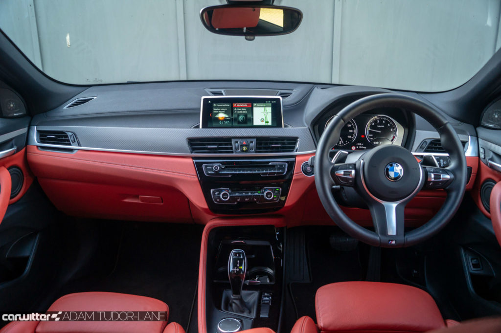 2018 BMW X2 M Sport X Review Dashboard Interior carwitter 1024x681 - BMW X2 M Sport X Review - BMW X2 M Sport X Review
