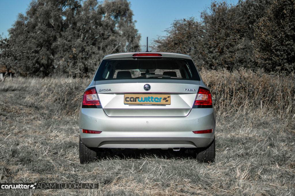 2018 Facelift Skoda Fabia Review Rear carwitter 1024x681 - Skoda Fabia 2018 Review - Skoda Fabia 2018 Review