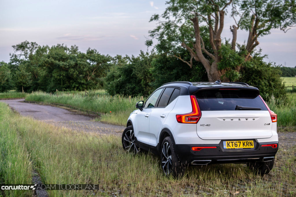 2018 Volvo XC40 First Edition Review Rear Angle High carwitter 1024x681 - Volvo XC40 Review - Volvo XC40 Review