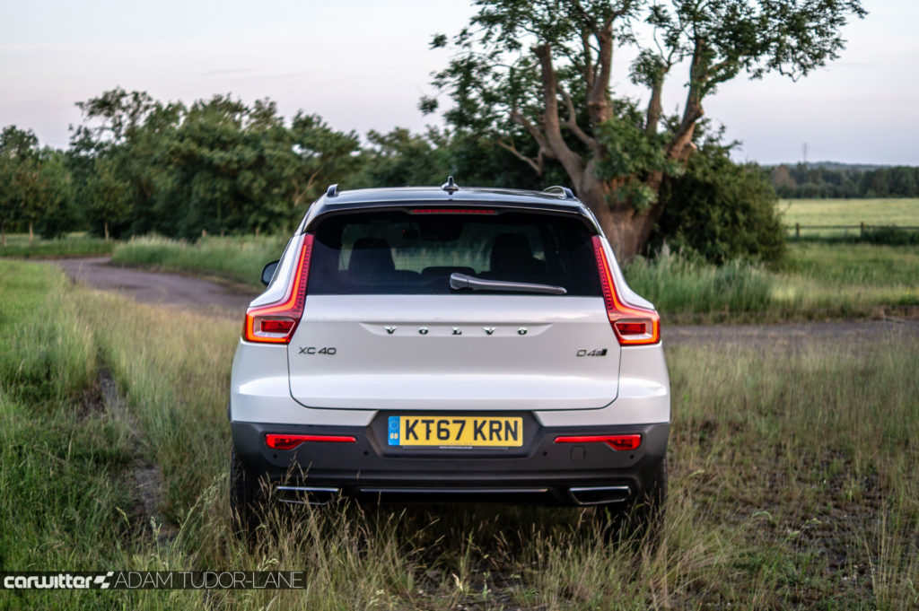 2018 Volvo XC40 First Edition Review Rear carwitter 1024x681 - Volvo XC40 Review - Volvo XC40 Review