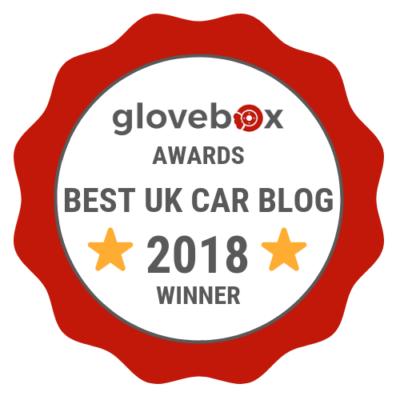 Glovebox Offical Awards Badge Best UK Car Blog 2018 Winner 400x400 - Press - Press