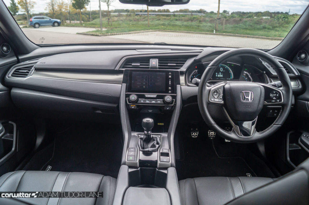 2018 Honda Civic 1.6 i DTEC Review Dashboard carwitter 1024x681 - 2018 Honda Civic 1.6 i-DTEC Review - 2018 Honda Civic 1.6 i-DTEC Review