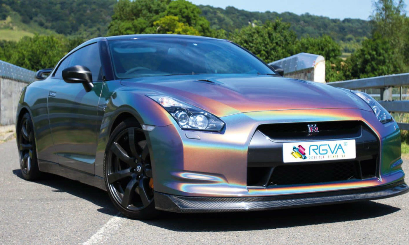 Car Wrapping Nissan GT R carwitter 1400x840 - The Top 5 Reasons for Wrapping Your Car - The Top 5 Reasons for Wrapping Your Car