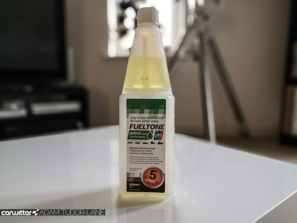 Fueltone Petrol Sytem Cleaner Review 001 carwitter 1024x768 - Fueltone Pro Petrol Treatment Review - Fueltone Pro Petrol Treatment Review