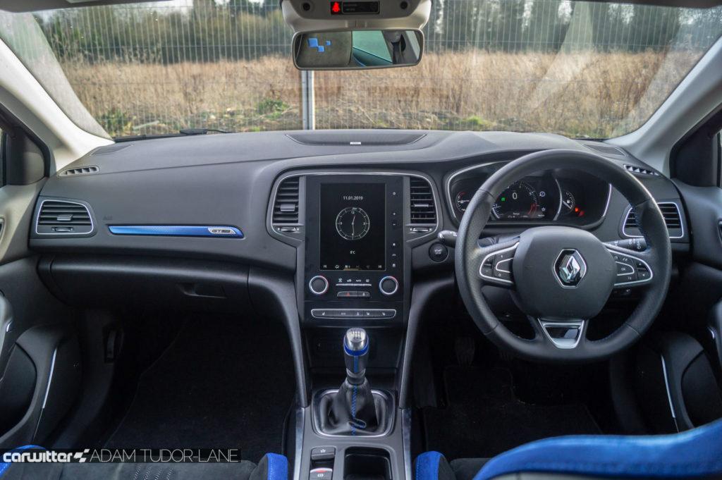Renault Megane GT Line Review Dashboard carwitter 1024x681 - Renault Megane GT Line TCe 140 Review - Renault Megane GT Line TCe 140 Review
