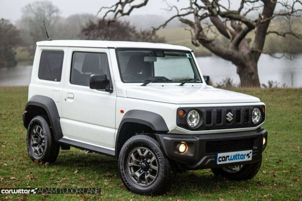 2018 Suzuki Jimny Review Front Angle Close carwitter 1024x681 - 2018 New Suzuki Jimny Review - 2018 New Suzuki Jimny Review