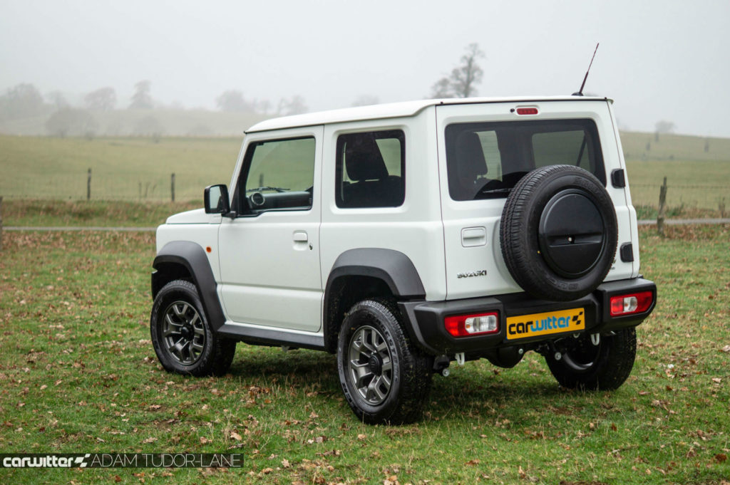 2018 Suzuki Jimny Review Rear Angle carwitter 1024x681 - 2018 New Suzuki Jimny Review - 2018 New Suzuki Jimny Review