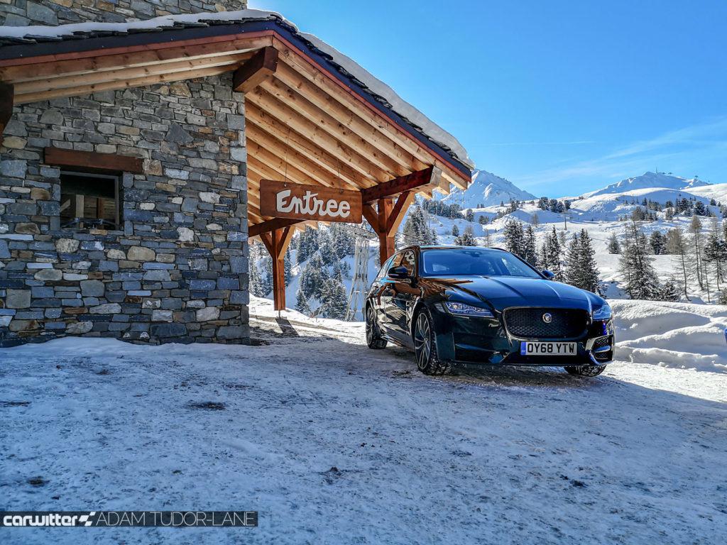 2019 Jaguar XF Sportbrake All Weel Drive Review 028 carwitter 1024x768 - Taking a Jaguar XF Sportbrake to the Alps - Taking a Jaguar XF Sportbrake to the Alps