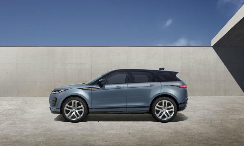 2019 New Range Rover Evoque Side carwitter 1024x612 - Jaguar E-Pace vs Range Rover Evoque - Jaguar E-Pace vs Range Rover Evoque