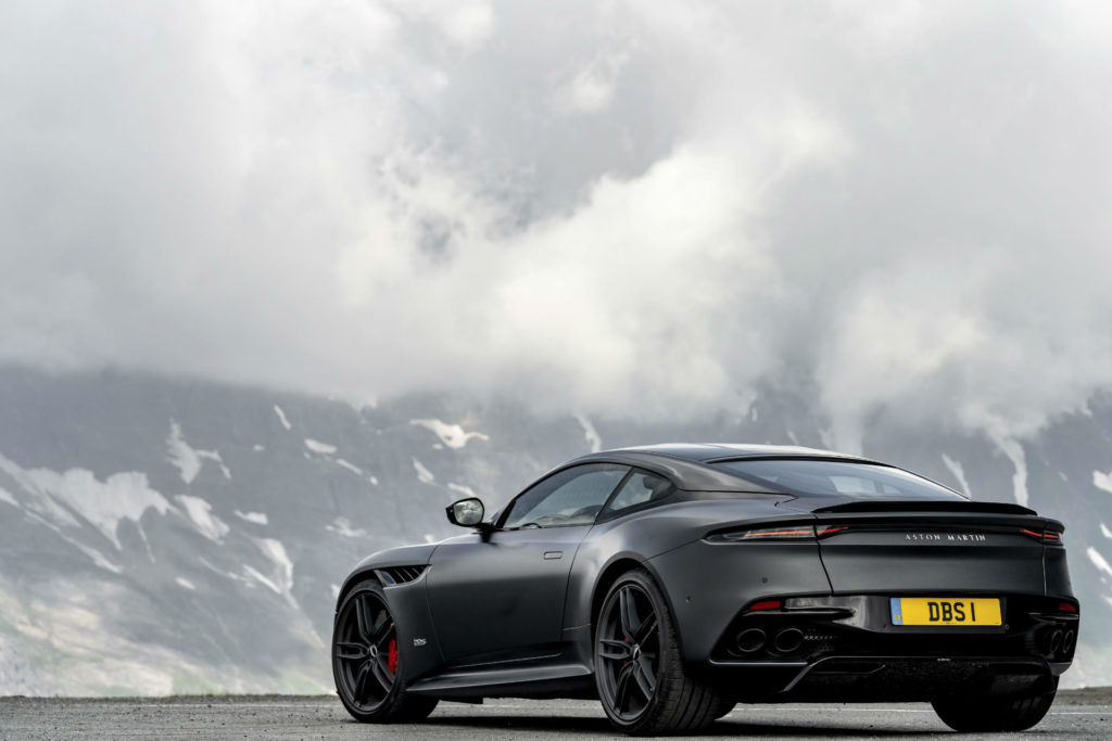 Aston Martin DBS Superleggera carwitter 1024x683 - The Best Supercars in 2019 - The Best Supercars in 2019