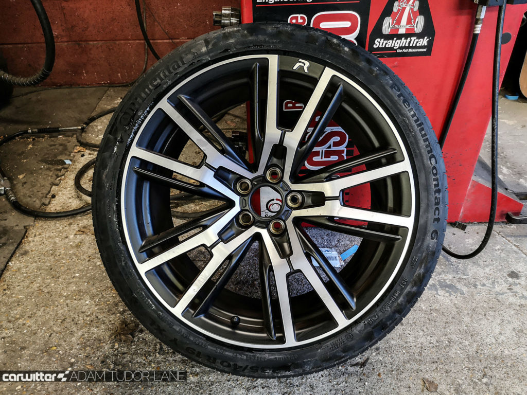 Continental Premium Contact 6 Peugeot RCZ R 004 carwitter 1024x768 - Why you should always buy decent tyres & use a trusted fitter - Why you should always buy decent tyres & use a trusted fitter