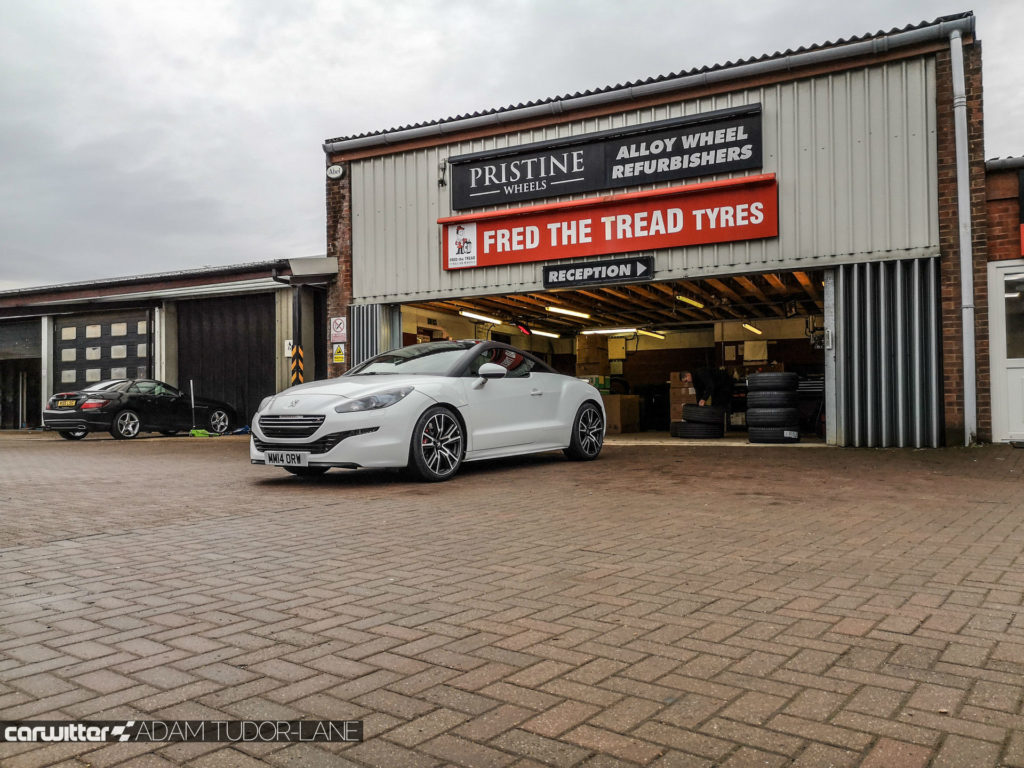 Continental Premium Contact 6 Peugeot RCZ R 012 carwitter 1024x768 - Why you should always buy decent tyres & use a trusted fitter - Why you should always buy decent tyres & use a trusted fitter