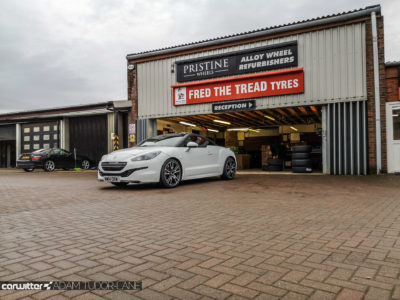 Continental Premium Contact 6 Peugeot RCZ R 012 carwitter 400x300 - Why you should always buy decent tyres & use a trusted fitter - Why you should always buy decent tyres & use a trusted fitter