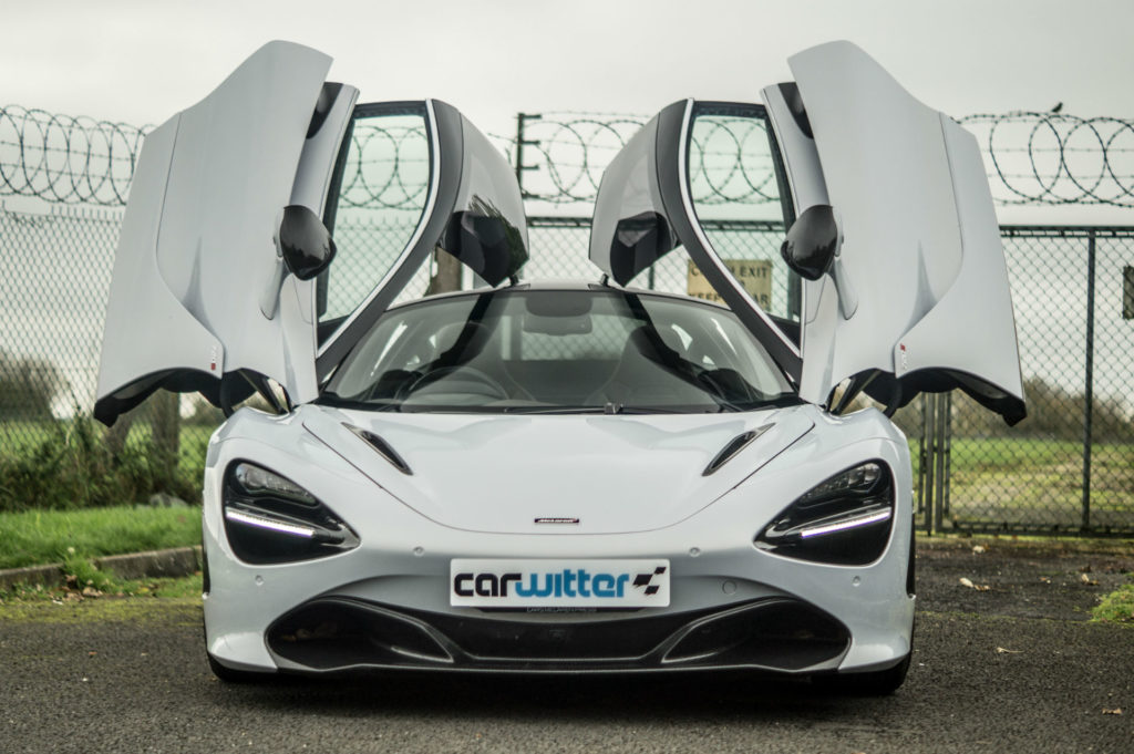 McLaren 720S Review Doors Up carwitter 1024x681 - The Best Supercars in 2019 - The Best Supercars in 2019