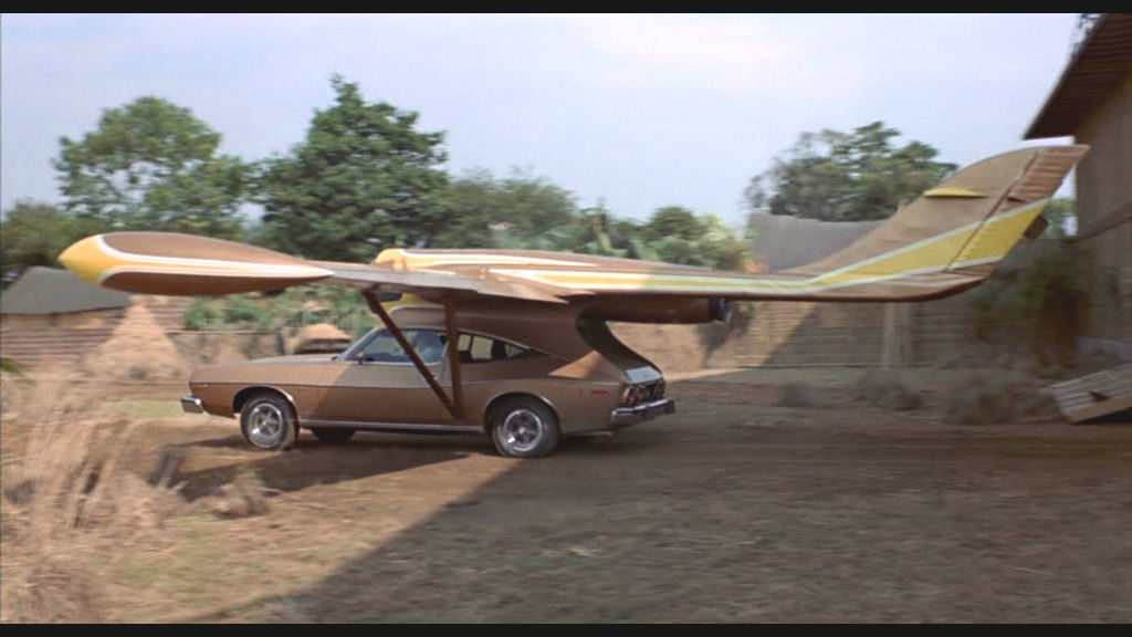 Scaramanga FLying Car James Bond carwitter 1024x576 - Flying Cars: The Past, The Present, The Unlikely Future - Flying Cars: The Past, The Present, The Unlikely Future