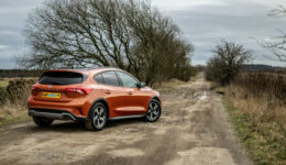 2019 Ford Focus Active Review Rear Angle Scene carwitter 260x150 - Ford Focus Active Review - Ford Focus Active Review