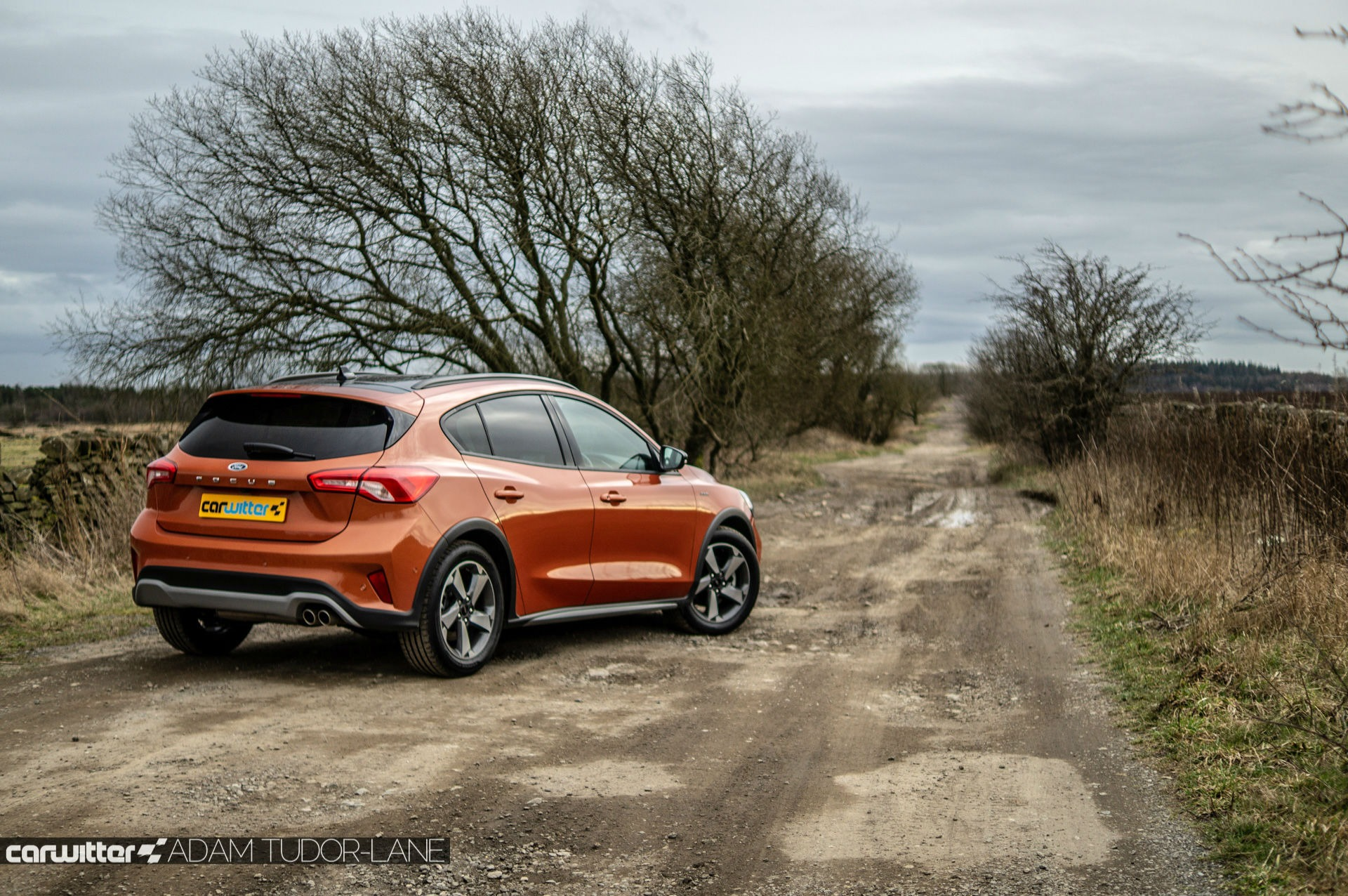 2019 Ford Focus Active Review Rear Angle Scene carwitter - Top 10 Best Selling Cars in Ireland 2020 - 2019 Ford Focus Active Review - Rear Angle Scene - carwitter