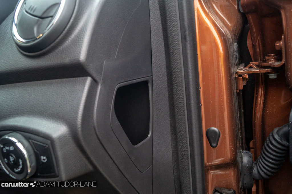 2019 Ford Ka Active Review Dash Cubby carwitter 1024x681 - Ford Ka+ Active Review - Ford Ka+ Active Review