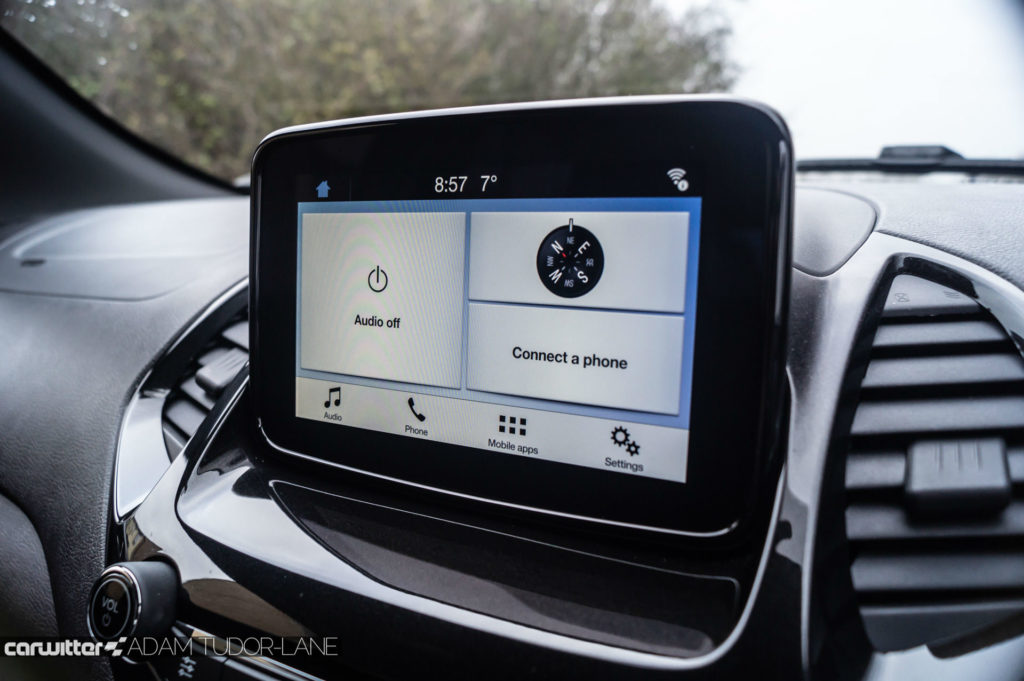 2019 Ford Ka Active Review Infotainment carwitter 1024x681 - Ford Ka+ Active Review - Ford Ka+ Active Review