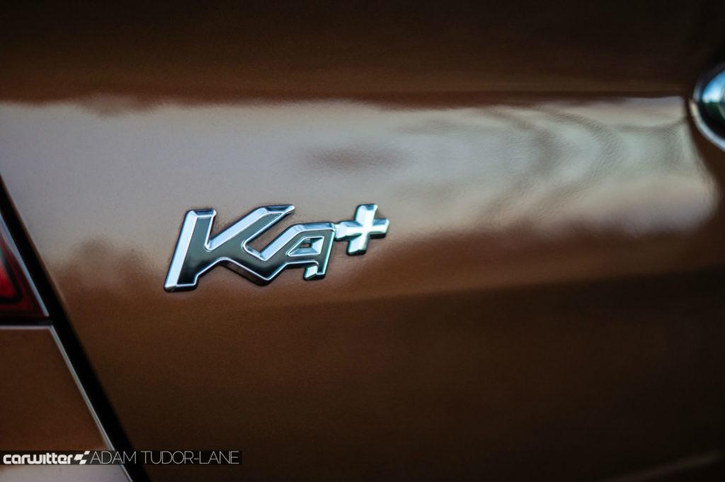 2019 Ford Ka Active Review Rear Badge carwitter 1024x681 - Ford Ka+ Active Review - Ford Ka+ Active Review