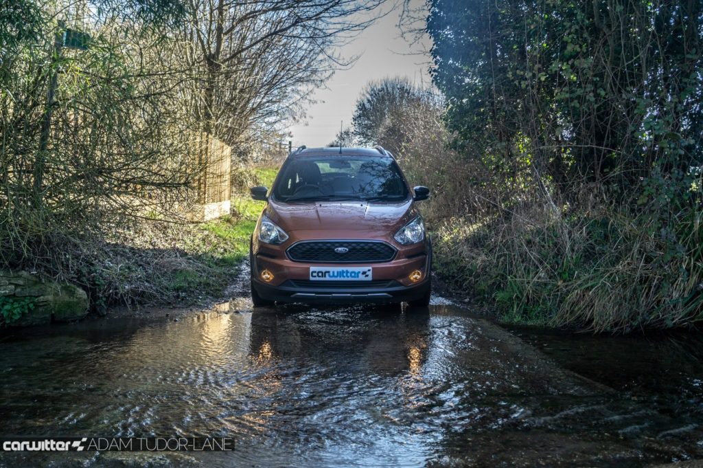 2019 Ford Ka Active Review Water Ford Front carwitter 1024x681 - Ford Ka+ Active Review - Ford Ka+ Active Review