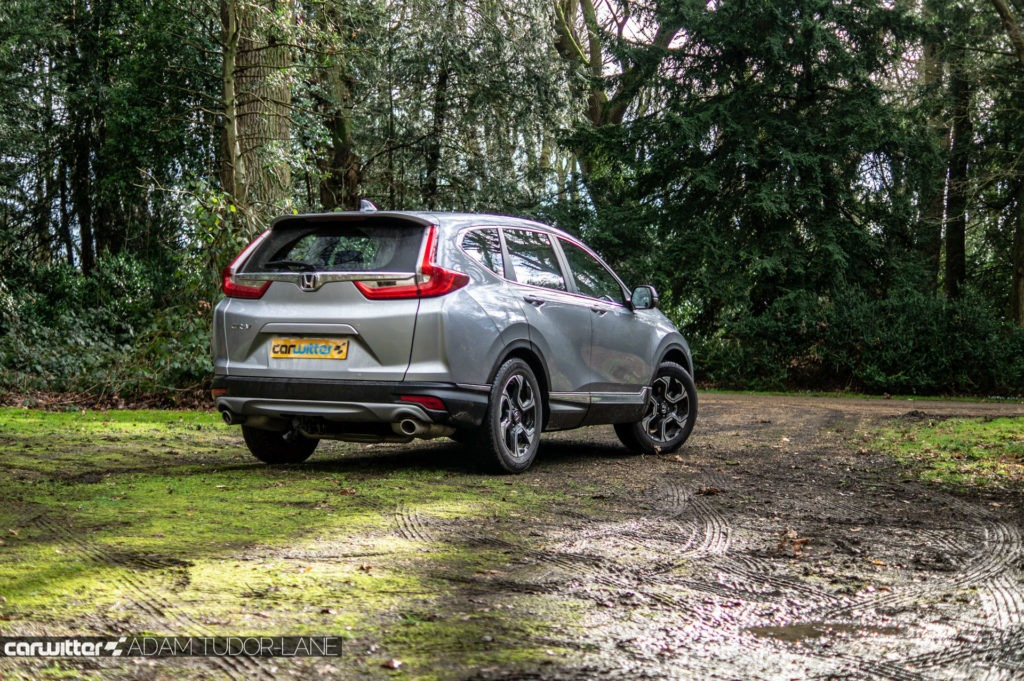 2019 Honda CR V Review Rear Angle carwitter 1024x681 - How Did SUVs Get So Popular? - How Did SUVs Get So Popular?